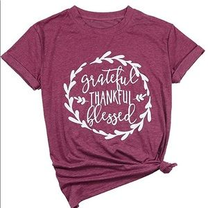 Grateful and Blessed Tee